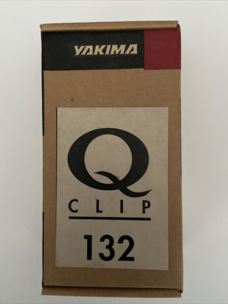 NEW YAKIMA Rack Q Tower Clips Q132 Q 132 With E Pads Part # 800732 $94.00