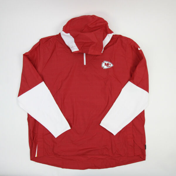Kansas City Chiefs Nike OnField Pullover Men#x27;s Red New with Tags