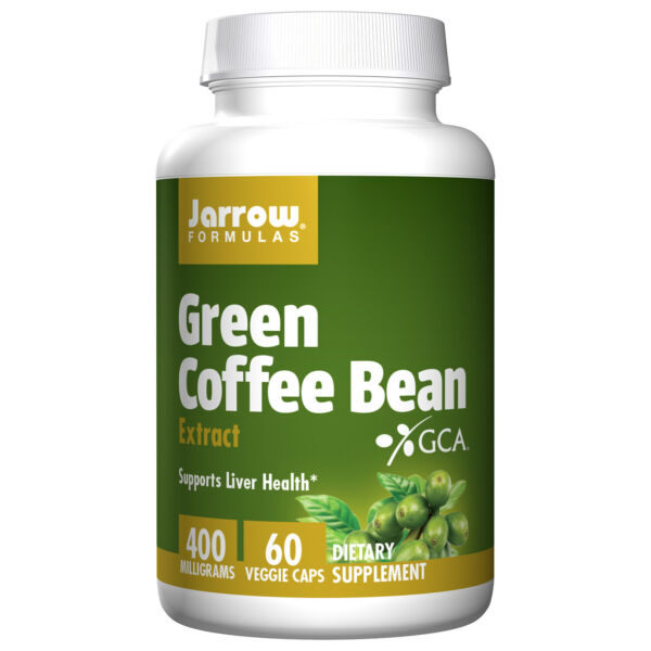 Green Coffee Bean Extract 400mg By Jarrow 60 Capsules