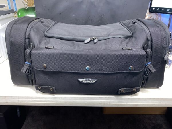 T bags Large Universal Motorcycle Luggage Excellent Condition 25x12x12 $99.99