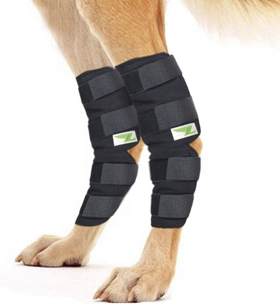 Extra Supportive Rear Dog Leg Brace One Pair Heals Hock Joint Wrap Sleeve New $20.40