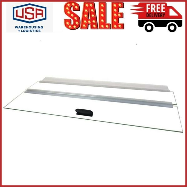 H2Pro Glass Canopy Clear for Aquarium Fish Tank $29.99