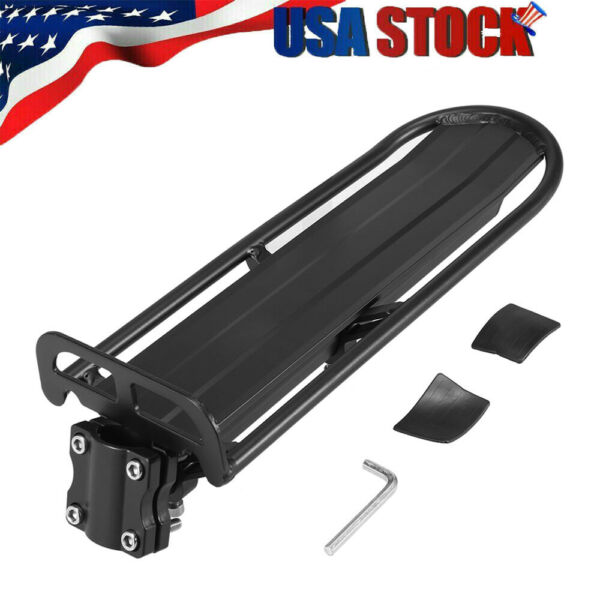 Aluminum Alloy Retractable Bike Cargo Rack Bicycle Luggage Cargo Carrier US Q2I6 $21.49
