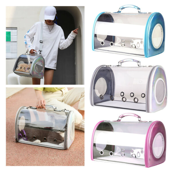 Pet Carrier Package Space Capsule Transparent Bags for Cats Puppies Travel $52.40