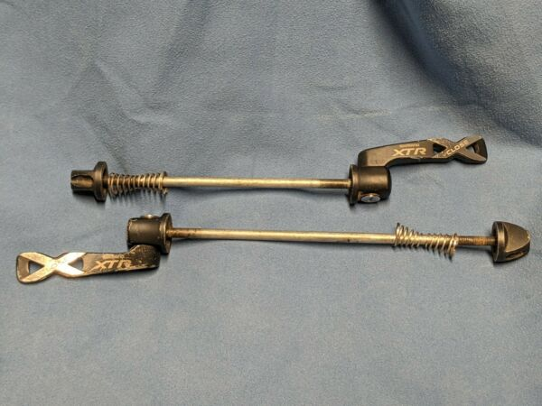 XTR M970 M975 Skewers Front amp; Rear vintage Shimano quick release lever $59.99