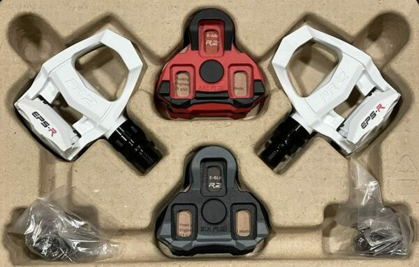 Exustar Carbon clip in Road Bike Pedals light 2 Pairs of LOOK Keo style cleats $68.00