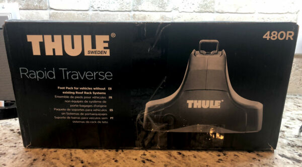 Thule 480R towers Rapid traverse NEW in Box $170.00