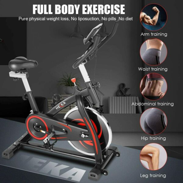 NEW Indoor Exercise Bike Stationary Cycling Bicycle Cardio Fitness Workoutgt;GITF $199.99