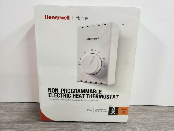 NIB Honeywell Thermostat Home Non Programmable Electric Heat Thermostat CT410B $15.99