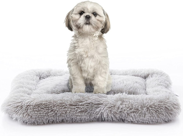 METCHIC Dog Crate Beds Large Dogs Calming Dog Beds Crate Pads Dog Crate Mats M $31.75