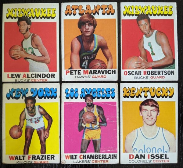 1971 72 Topps Basketball Complete Your Set Pick One #1 #234 ; HOF RC $4.00