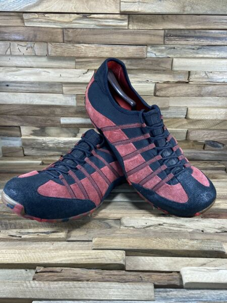 Tsubo Yocto Men#x27;s Hiking Trail Casual Athleisure Shoes Size 12 Red Black