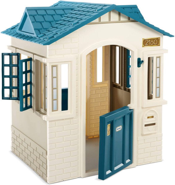Little Tikes Cape Cottage Playhouse for Kids Outdoor Playset and Indoor for 2 $149.59