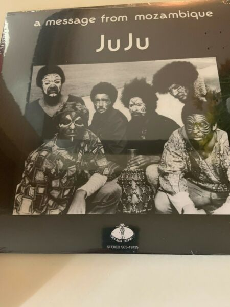 JUJU A MESSAGE FROM MOZAMBIQUE BLACK FIRE SEALED VINYL REISSUE LP