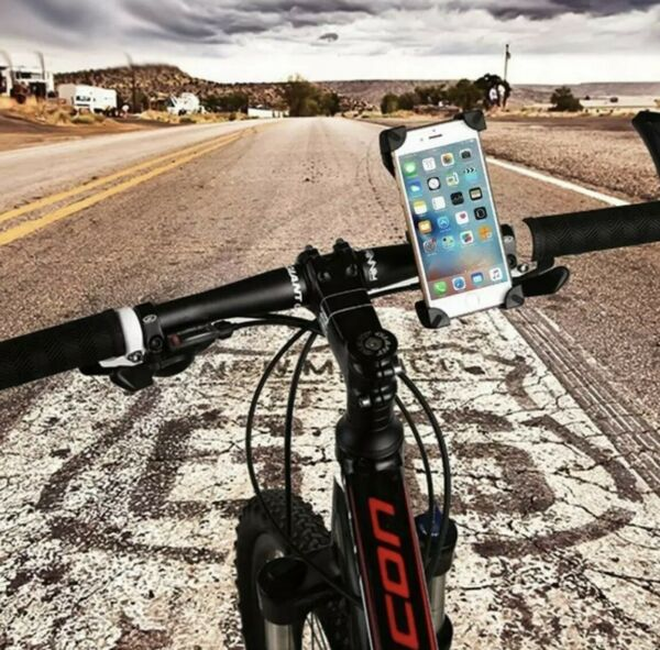 UNIVERSAL BIKE HOLDER CH 01 FOR SMARTPHONE GPS AND OTHER DEVICES $5.99