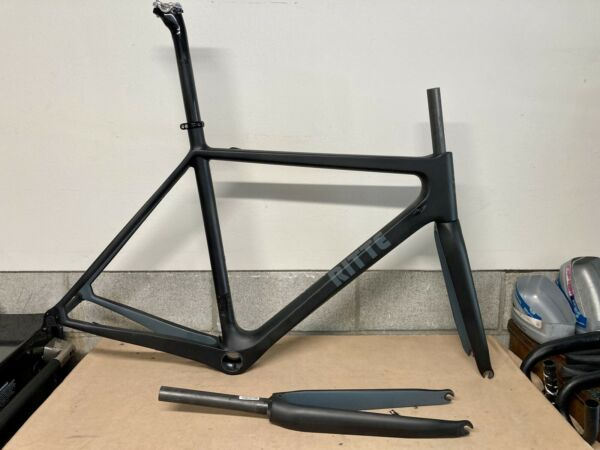 Ritte Ace carbon road bicycle frameset size large 56.5 $1200.00