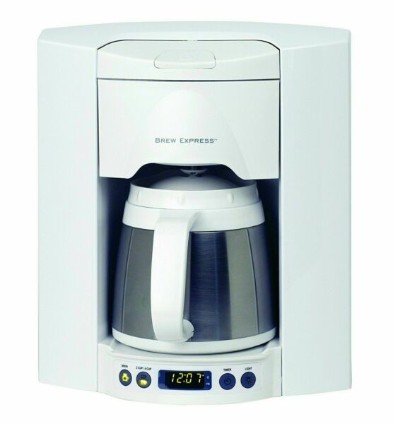 Brew Express BE 104R 223A 4 Cup Built in Wall Coffee System White used