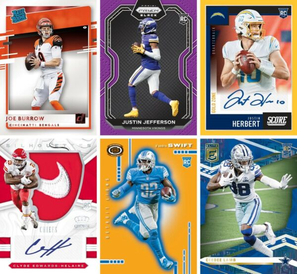 2020 Panini Chronicles NFL Football Auto Insert SP SSP Rookies RC You Pick $0.99