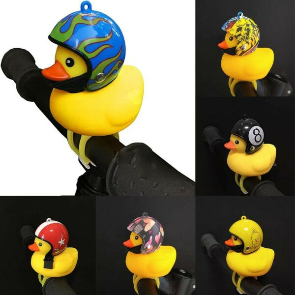Bicycle Lights Horns Bell Accessories Light Rubber With Helmet $9.00