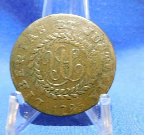 1783 Nova Constellatio Colonial Copper Coin Pointed Rays
