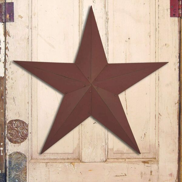 Extra Large Rustic Primitive Dimensional Barn Star • Country Farmhouse Decor 36quot;