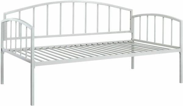 DHP Ava Metal Metal Daybed Frame Sofa Bed Twin Size Mattress White LOCAL PICK UP $69.99