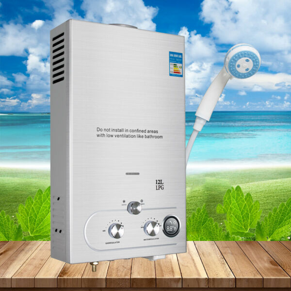 Portable Electric Hot Water Heater Tankless Instant Boiler For Kitchen Bathroom $67.99