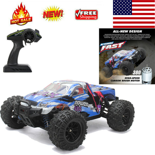 KYAMRC KY 2819A 1:18 Car 4WD Off Road Remote Control 2.4GHz 35KM H Speed Gifts $37.69