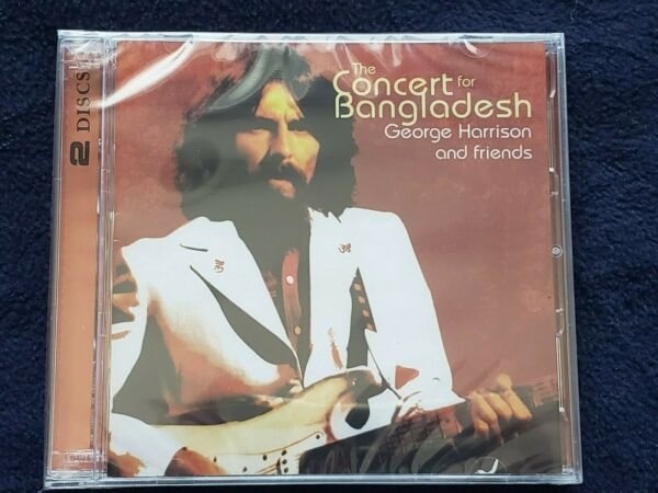 2 CD George Harrison The Concert For Bangladesh brand new