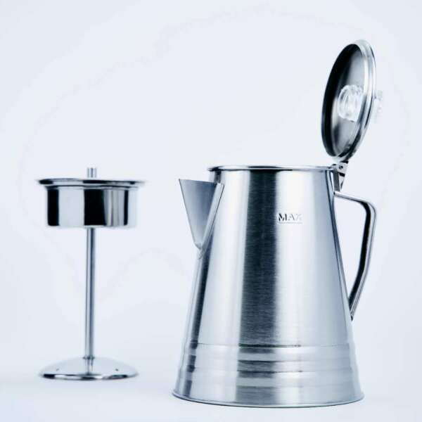10 Cup Stainless Steel Percolator Coffee Pot