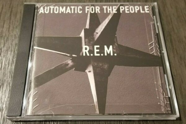 R.E.M. Automatic For the People CD Used Very Good $2.99