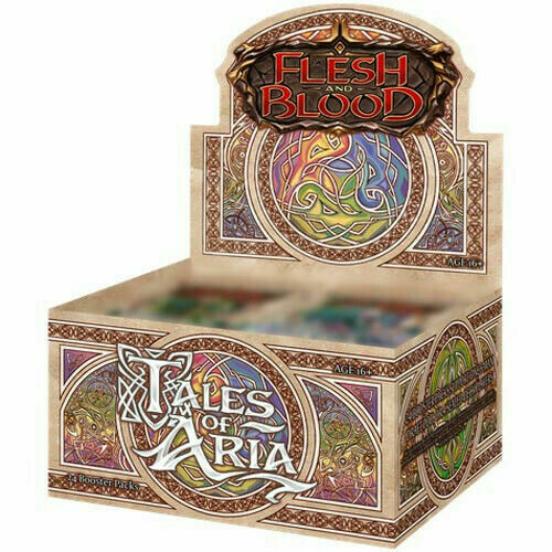 Flesh and Blood Tales of Aria 1st Edition Booster Box $129.99