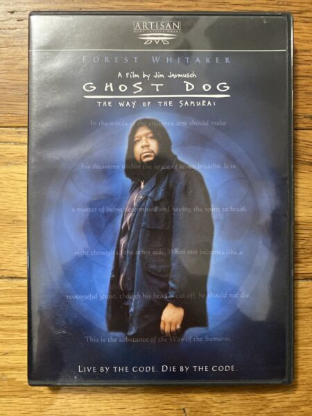 Ghost Dog: The Way of the Samurai DVD 1999 Forest Whitaker $3.99