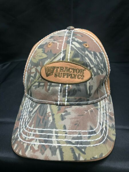 Camouflage Tractor Supply Co. adjustable hat cap $19.99