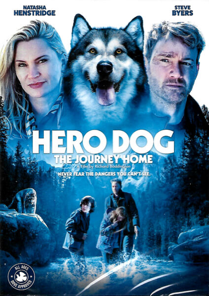 Hero Dog The Journey Home new sealed DVD Free Shipping $12.95