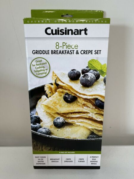 Cuisinart CGS 843 Griddle Breakfast and Crepe Set New in Box