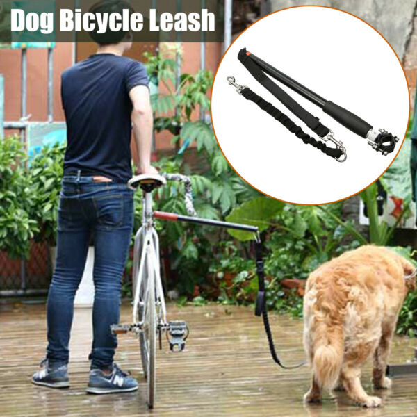 Dog Bike Leash Attachment For Hands Free Dogs Pet Walking Bicycle And Exercis ## $32.28