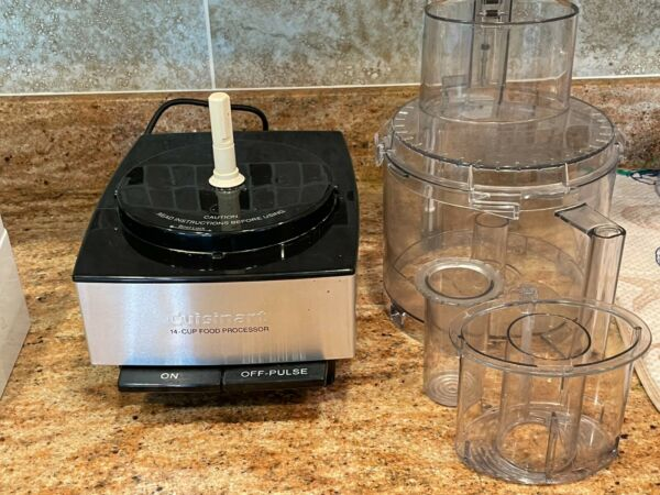 Cuisinart 14 Cups Full Size Food Processor with bowls and accessory blades