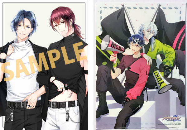 IDOLiSH7 Stand My Heroes poster and clear file spoon.2Di vol. 61 appendix