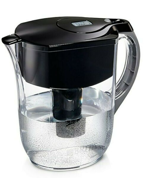 BRITA Grand Water Pitcher With 1 Filter 10 Cup Capacity BLACK NEW SEALED