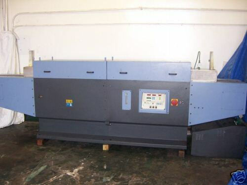 2000  OPDEL FN3  2 Zone  1700 Degree  Conveyer Furnace
