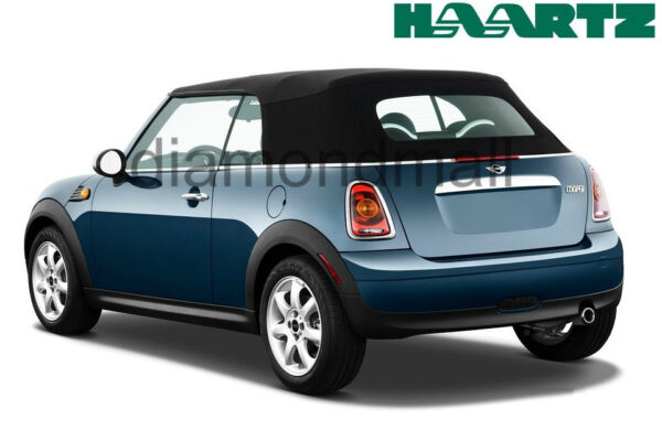 Mini Cooper Convertible Soft Top With Heated Glass window 2003 2008 Black Cloth $589.00