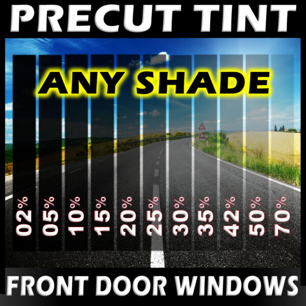 PreCut Film Front Door Windows Any Tint Shade VLT for Ford SUV Glass