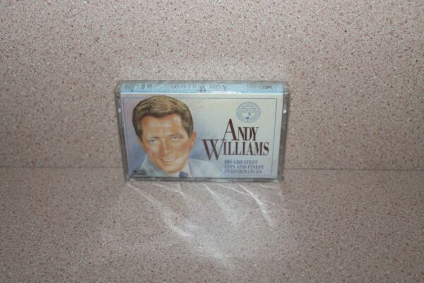 Andy Williams His Greatest Hits NEW & SEALED audio cassette