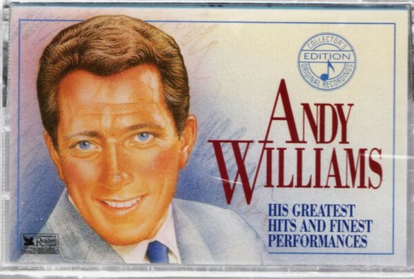 ANDY WILLIAMS  His Greatest Hits & Finest Performances Vol. 2 - Sealed Cassette