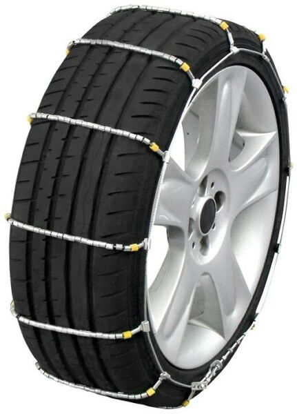 Quality Chain 1042 Cobra Cable Tire Chains Snow Traction Passenger Vehicle Car