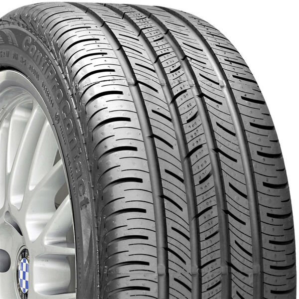 2 NEW 195/65-15 CONTINENTAL PRO CONTACT 65R R15 TIRES 26899
