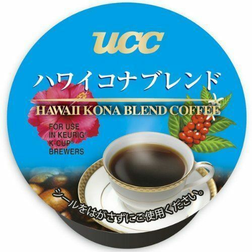 UCC K-CUP Hawaii Kona Blend Coffee Capsules 8g × 12 Cups from Japan