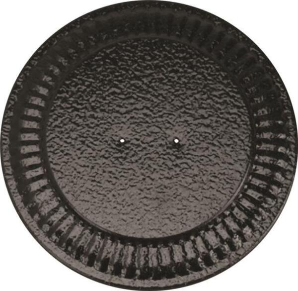 NEW IMPERIAL BM0026 ADJUSTABLE BLACK 4quot; 8quot; STOVE PIPE FLUE HOLE COVER 6719900