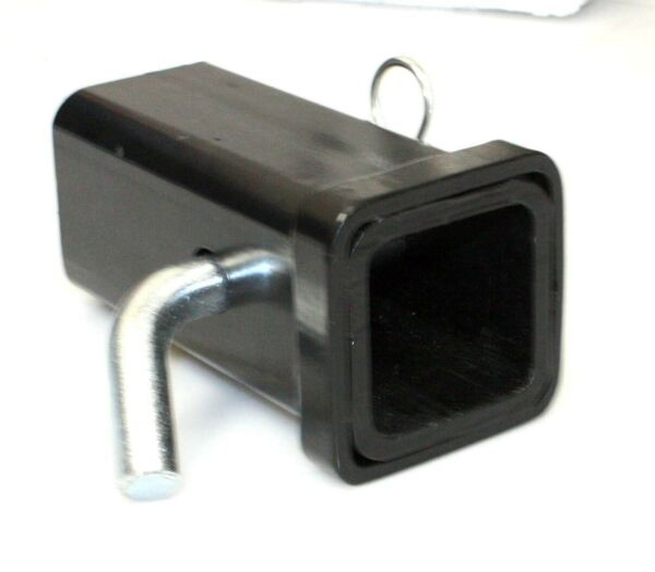Hitch Receiver 2quot; Tube x 6quot; Long Fits Standard 2quot; x 2quot; Ball Mount w Hitch Pin $18.99